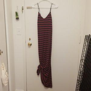 Tommy Hilfiger Stripe Maxi Dress